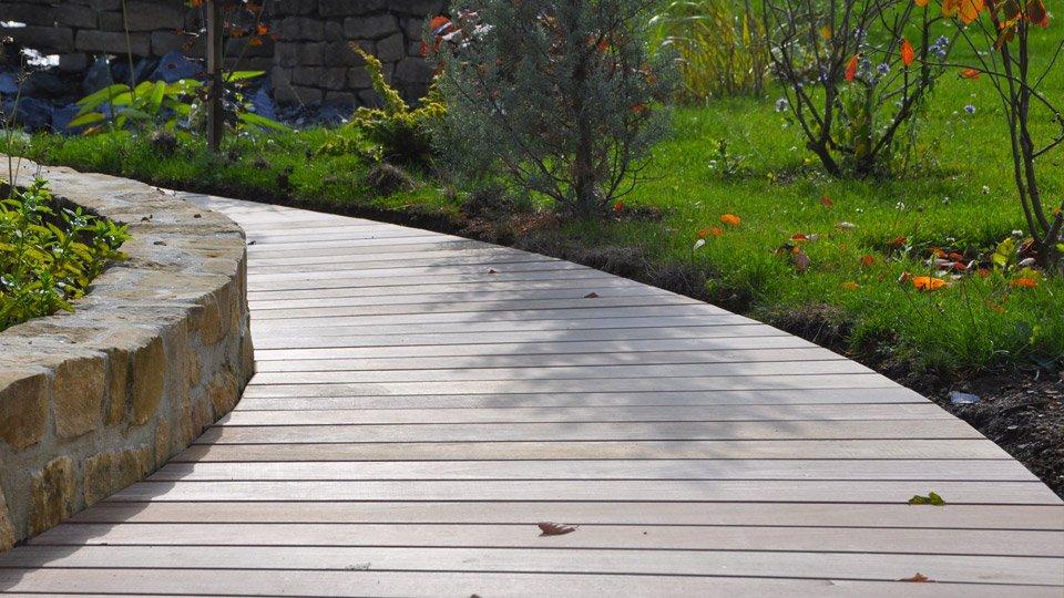 Terrasse et chemin d'accès, fixation invisible Hard Wood Clip