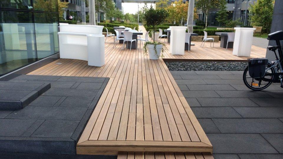 Photos terrasse en bois fixation invisible Ipé  Ambiance Bois